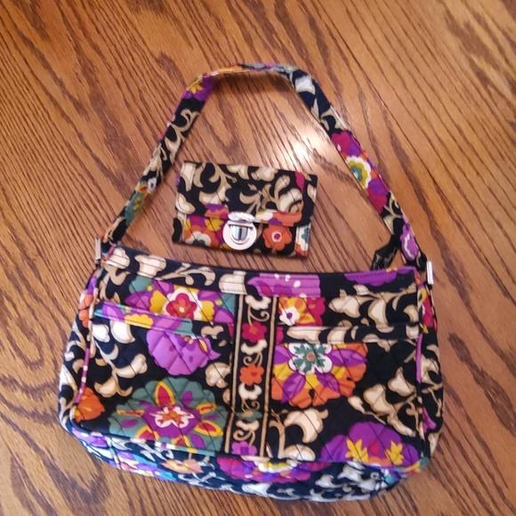 Vera Bradley Handbags - Vera Bradley Purse & Id coin purse